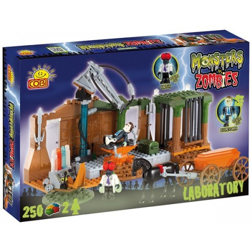 Cobi Monsters vs. Zombies Laboratorium 28252