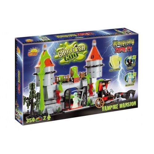 Cobi Monsters vs. Zombies Mały Zamek Draculi 28350